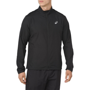 Men's Running Jacket Asics Silver Jacket  Black 2011A024.002