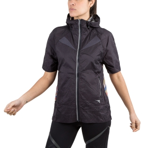 Giacca Running Donna Diadora Bright Jacket  Black/ Multicolor 102172843C7539