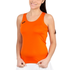 Women's Running Tank Top Joma Diana Tank  Orange/Black 900038.800