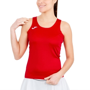 Women's Running Tank Top Joma Diana Tank  Red/Black 900038.600