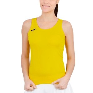 Women's Running Tank Top Joma Diana Tank  Yellow/Black 900038.900