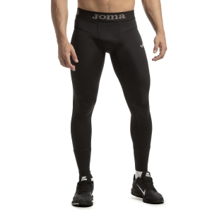 Men's Running Tights Joma Olimpia Compression Tights  Black 101262.100