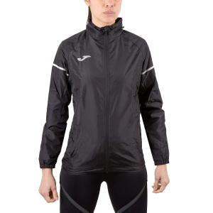 Giacca Running Donna Joma Race Jacket  Black 900662.100