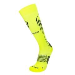 Mico Oxi-Jet Medium Socks - Yellow/Black