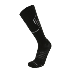 Mico Oxi-Jet Medium Socks - Black/Grey