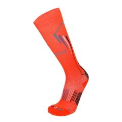 Mico Oxi-Jet Medium Socks - Orange/Blu