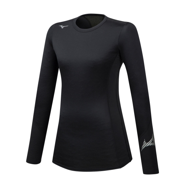 Mizuno Virtual Body G2 Crew Shirt - Black