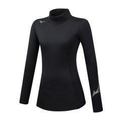 Mizuno Virtual Body G2 High Neck Shirt - Black