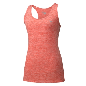 Women's Running Tank Top Mizuno Impulse Core Tank  Pink J2GA820656
