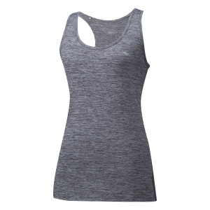 Women's Running Tank Top Mizuno Impulse Core Tank  Grey J2GA820608
