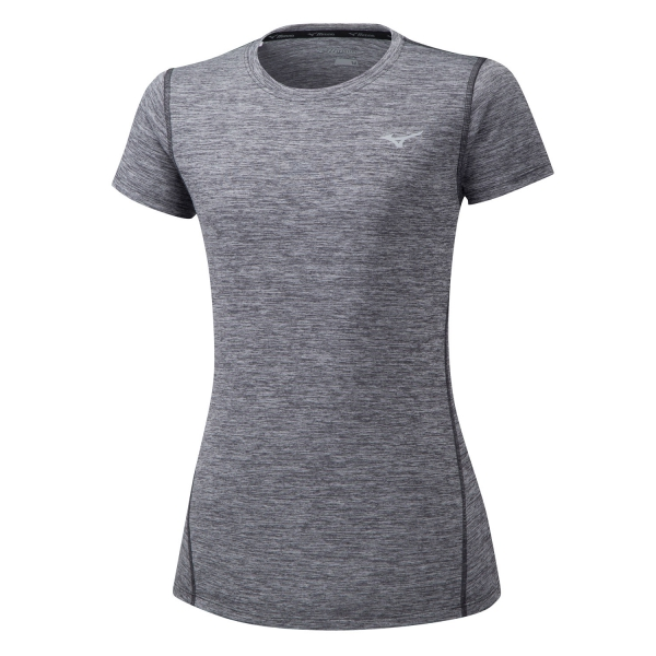 77988de1bd Mizuno Impulse Core Women's Running T-Shirt - Grey