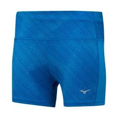 Mizuno Impulse Printed 3in Shorts - Blue