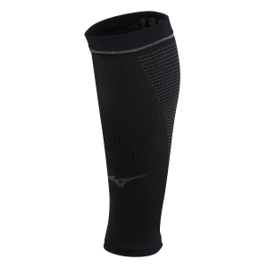 Calf Support Mizuno Compression Supporter Calf Sleeve  Black J2GX9A7109