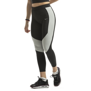 Women's Running Tight Mizuno Impulse Core Tights  Black/Grey J2GB973091