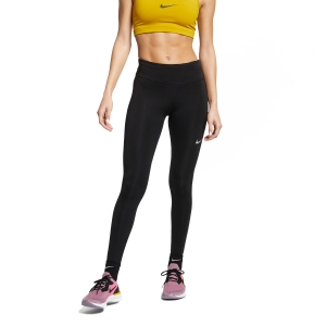 Women's Running Tight Nike Fast Tights  Black/Reflective Silver AT3103010
