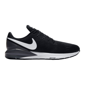 Men's Structured Running Shoes Nike Air Zoom Structure 22  Black/White AA1636002