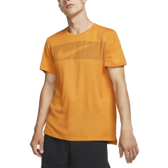 Nike Nike DriFIT Breathe TShirt  Orange  Orange AJ8004833