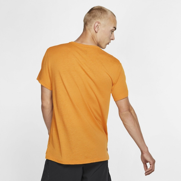 Nike Dri-FIT Breathe T-Shirt - Orange