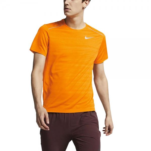 88b459f29 Nike Dry Miler Men's Running T-Shirt - Orange