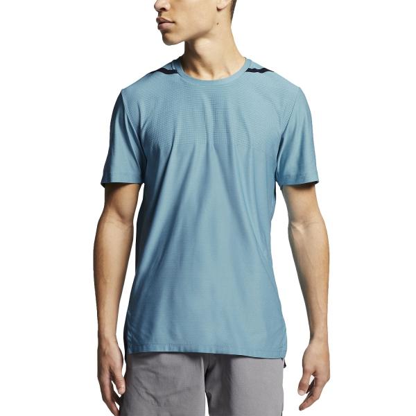 7d4ac31b Nike Dry Tech Pack T-Shirt - Blue Gaze/Green Abyss/Black AJ7963