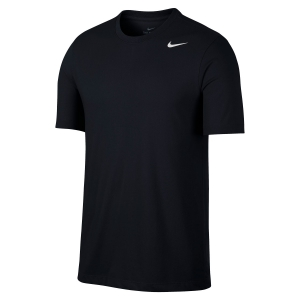 Men's Sportswear T-Shirt and Polo Nike Dry TShirt  Black/White AR6029010