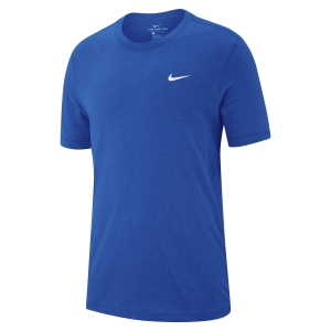 Men's Sportswear T-Shirt and Polo Nike Dry TShirt  Blue/White AR6029480