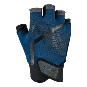 Running Accessories Nike Extreme Mens Fitness Gloves  Blue/Black N.000.0004.486