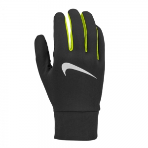 Running gloves Nike Lightweight Tech Men's Running Gloves  Black/Volt/Silver N.RG.M0.054