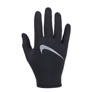 Running gloves Nike Miler Running Gloves  Black/Silver N.RG.L4.042