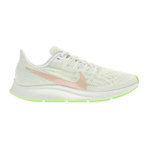 Women's Neutral Running Shoes Nike Air Zoom Pegasus 36  Phantom/Bio Beige/Barely Volt/Spruce Aura AQ2210002