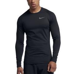 Nike Pro Warm Shirt - Black
