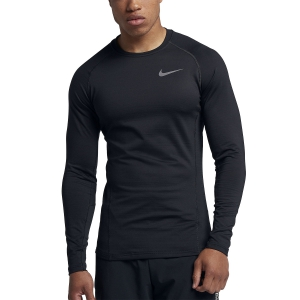 Men's Running Shirt Nike Pro Warm Shirt  Black 929721010