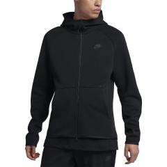 Nike Sportswear Tech Full Zip Hoodie - Black