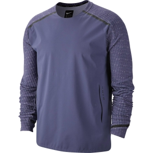 Maglie Running Uomo Nike Tech Pack Hybrid Midlayer Maglia  Sanded Purple/Reflective Black BV5683557