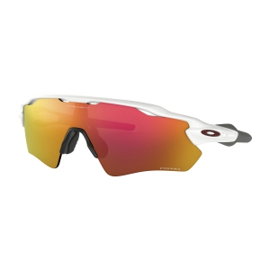 Occhiali Oakley Radar EV Path Occhiali  Polished White/Prizm Ruby 0OO92087238