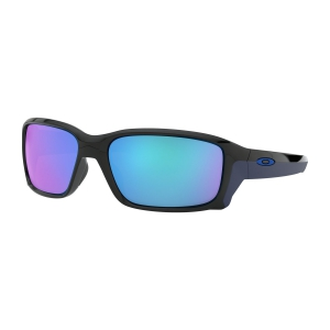 Oakley Straightlink Glasses - Polished Black/Sapphire Iridium