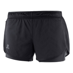 Salomon Agile 2 in 1 3in Shorts - Black