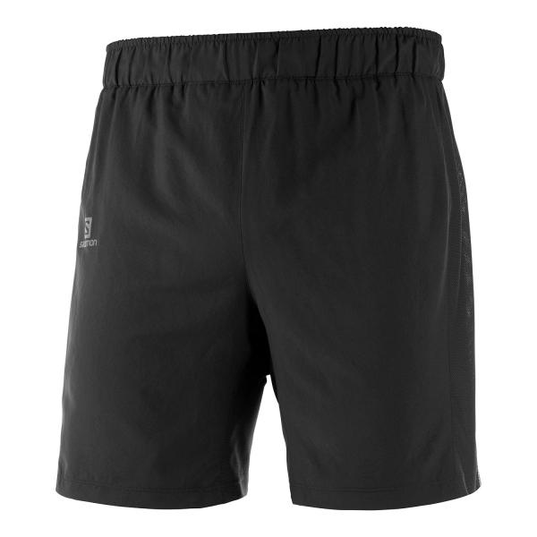Salomon Agile 2 in 1 7in Shorts - Black
