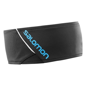 Thermal Head Band Salomon RS Headband  Black/Transcend Blue L40295300