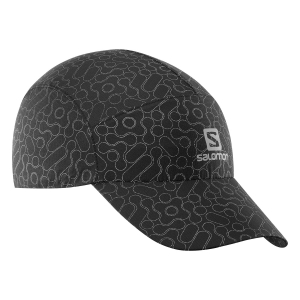 Hats & Visors Salomon Reflective Cap  Black LC1151200