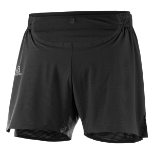 Men's Running Short Salomon Sense Pro 4in Shorts  Black LC1046500