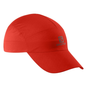 Hats & Visors Salomon Waterproof Cap  Fiery Red LC1151700