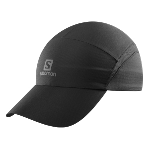 Hats & Visors Salomon XA Cap  Black/Reflective Charcoal LC1036900