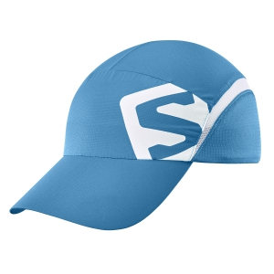 Hats & Visors Salomon XA Cap  Fjord Blue/White LC1151500
