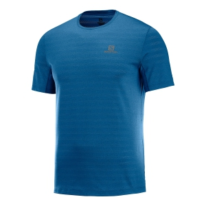 Men's Running T-Shirt Salomon XA TShirt  Petrol LC1035400