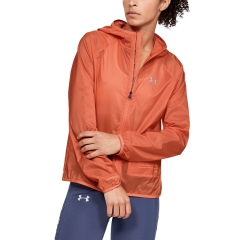 Under Armour Qualifier Storm Packable Jacket - Coral Dust
