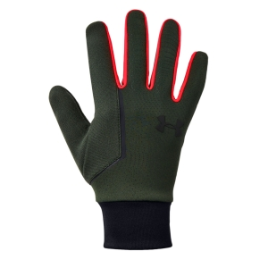 Running gloves Under Armour Storm Run Liner Gloves  Green 13185710310