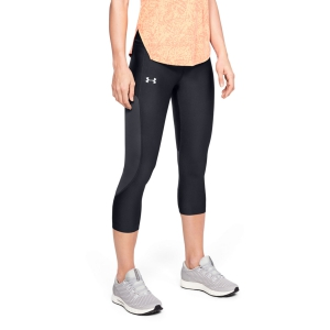 Women's Running Tight Under Armour Speed Stride Capri  Black/Jet Gray 13429060001