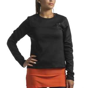 Maglia Running Donna Under Armour Qualifier ColdGear Maglia  Black/Pitch Gray 13440620001