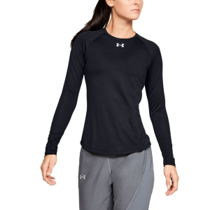 Women's Running Shirt Under Armour Qualifier Shirt  Black 13265050001